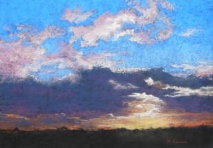 Magical Sunset pastel
